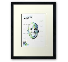 Two weeks in the life of sheaney Framed Print