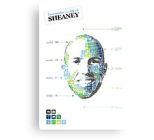 Two weeks in the life of sheaney Canvas Print