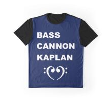 Bass Cannon Kaplan Graphic T-Shirt