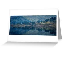 thirlmere reflected Greeting Card