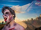 Brighton Zombie Walk - Beach of the Dead by Heather Buckley