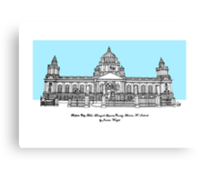Belfast City Hall Canvas Print