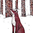 Fox in the Snow by samclaire