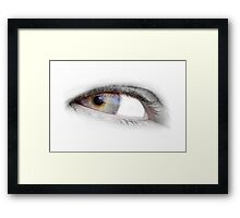 Eye on me Framed Print