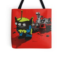 FIRST IMAGE OF MARS Tote Bag