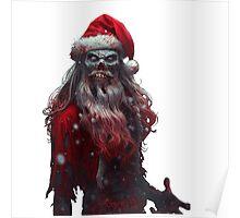 Zanta Claws - Zombie Santa Poster