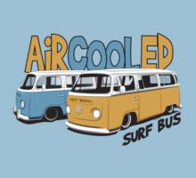 VW Surf Bus Pair Kids Tee