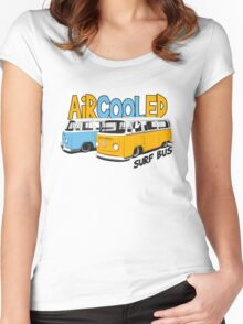 VW Surf Bus Pair Women's Fitted Scoop T-Shirt
