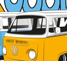 VW Surf Bus Pair Sticker