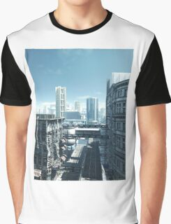 Future City - Deserted Streets Graphic T-Shirt