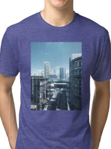 Future City - Deserted Streets Tri-blend T-Shirt