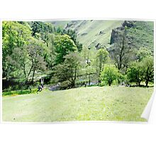 Wolfscote Dale from Gipsy Bank  Poster