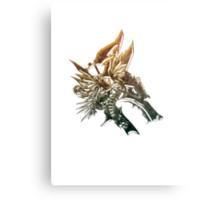 Steampunk bronze wolf Metal Print