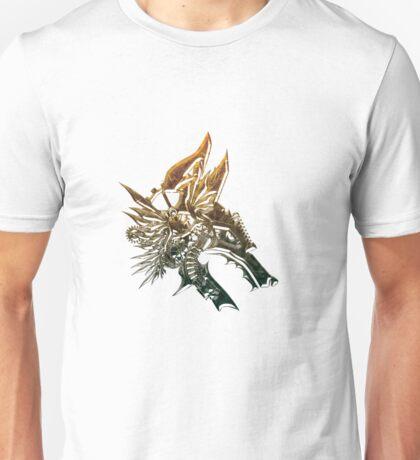 Steampunk bronze wolf Unisex T-Shirt