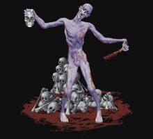 Zombie Graveyard .. tee shirt by LoneAngel