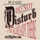 Please do not disturb  by sixfiftyfive