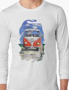 Eyre Peninsula, Beach Kombi Long Sleeve T-Shirt