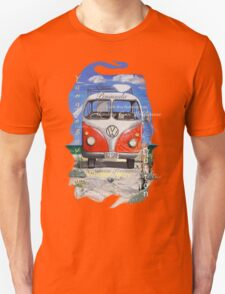Eyre Peninsula, Beach Kombi Unisex T-Shirt