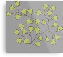 Leaf Go Green Ecology Metal Print