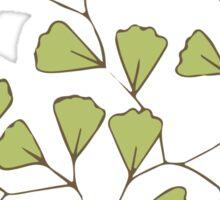 Leaf Go Green Ecology Sticker