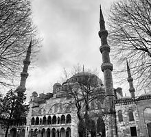 Blue Mosque in Turkey by goldsaintphoto