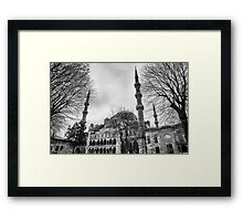 Blue Mosque in Turkey Framed Print
