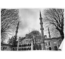 Blue Mosque in Turkey Poster