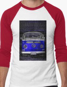 Volkswagen combi Blue  Men's Baseball ¾ T-Shirt