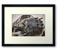 Devil Dog Framed Print