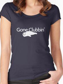 Gone clubbin' Women's Fitted Scoop T-Shirt