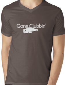 Gone clubbin' Mens V-Neck T-Shirt