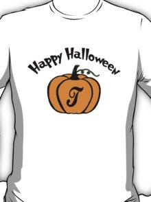HALLOWEEN - PUMPKIN INITIALS - PUMPKIN T T-Shirt