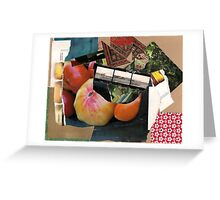re(d)collection Greeting Card