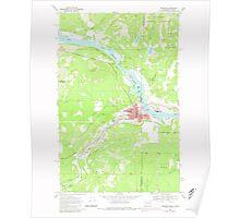 USGS Topo Map Washington State WA Newport 242816 1968 24000 Poster