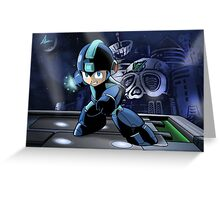 Megaman the Hero of 200x and 20xx Greeting Card