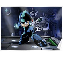 Megaman the Hero of 200x and 20xx Poster