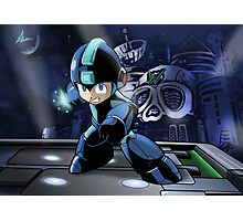 Megaman the Hero of 200x and 20xx Photographic Print