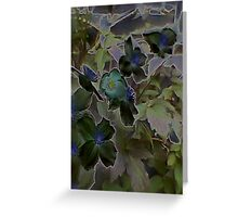 JWFrench Collection Flower 1 Greeting Card