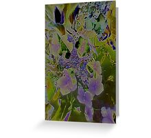 JWFrench Collection Flower 2 Greeting Card