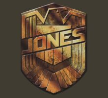 Custom Dredd Badge Shirt - (Jones)  by CallsignShirts