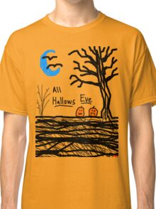 halloween jack o lantern all hallows eve Classic T-Shirt