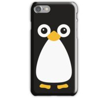 Cute Vector Penguin iPhone Case/Skin