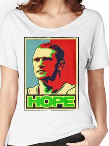 BRIAN SCALABRINE-HOPE Women's Relaxed Fit T-Shirt