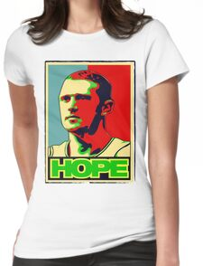 BRIAN SCALABRINE-HOPE Womens Fitted T-Shirt