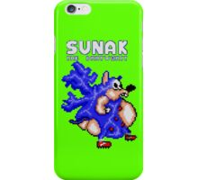 Sunak coming in your i! (green) iPhone Case/Skin