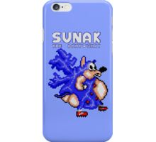 Sunak coming in your i! (blue) iPhone Case/Skin