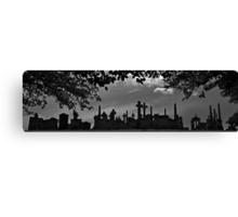 Tombstone City Panorama Canvas Print