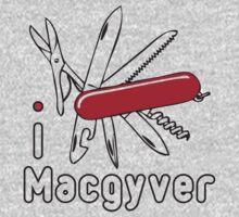 I LOVE MACGYVER T-shirt Kids Tee