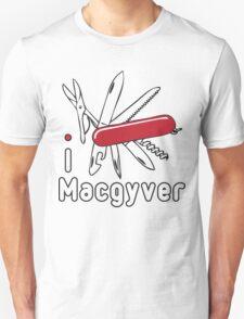 I LOVE MACGYVER T-shirt T-Shirt