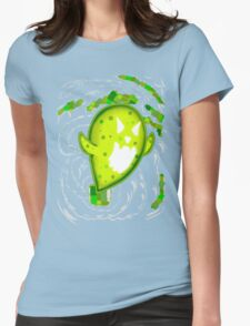 Gigantic Mega Germ! Womens Fitted T-Shirt